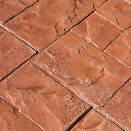 Pavimento in cemento stampato pavimenti moderni - Piastrelle in cemento ...